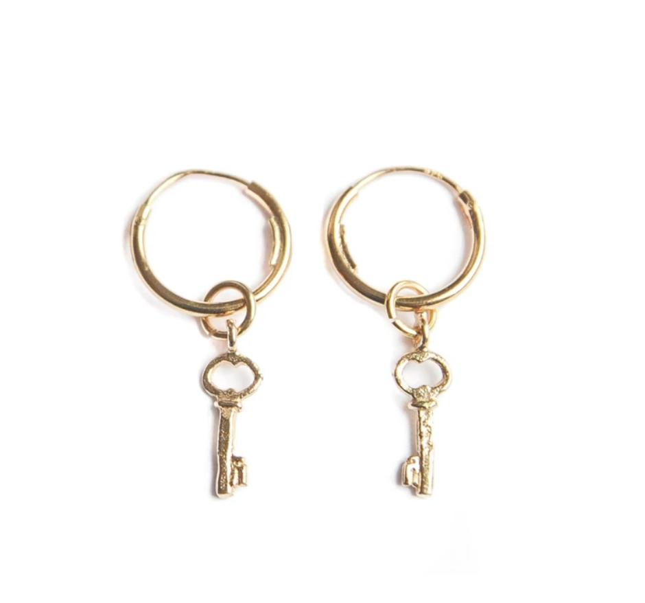Bobby Rose Earring - Key of Love