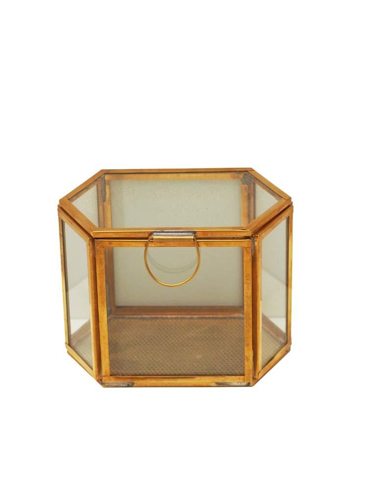 Glass box 6-angled