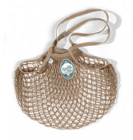 Filt Net Shopping Bag - Beige