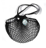 Filt Net Shopping Bag - Black