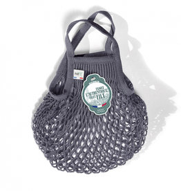 Filt Mini Net Shopping Bag - Grey