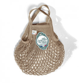 Filt Mini Net Shopping Bag - Beige