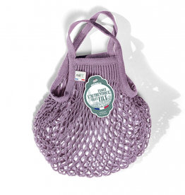 Filt Mini Net Shopping Bag - Lila
