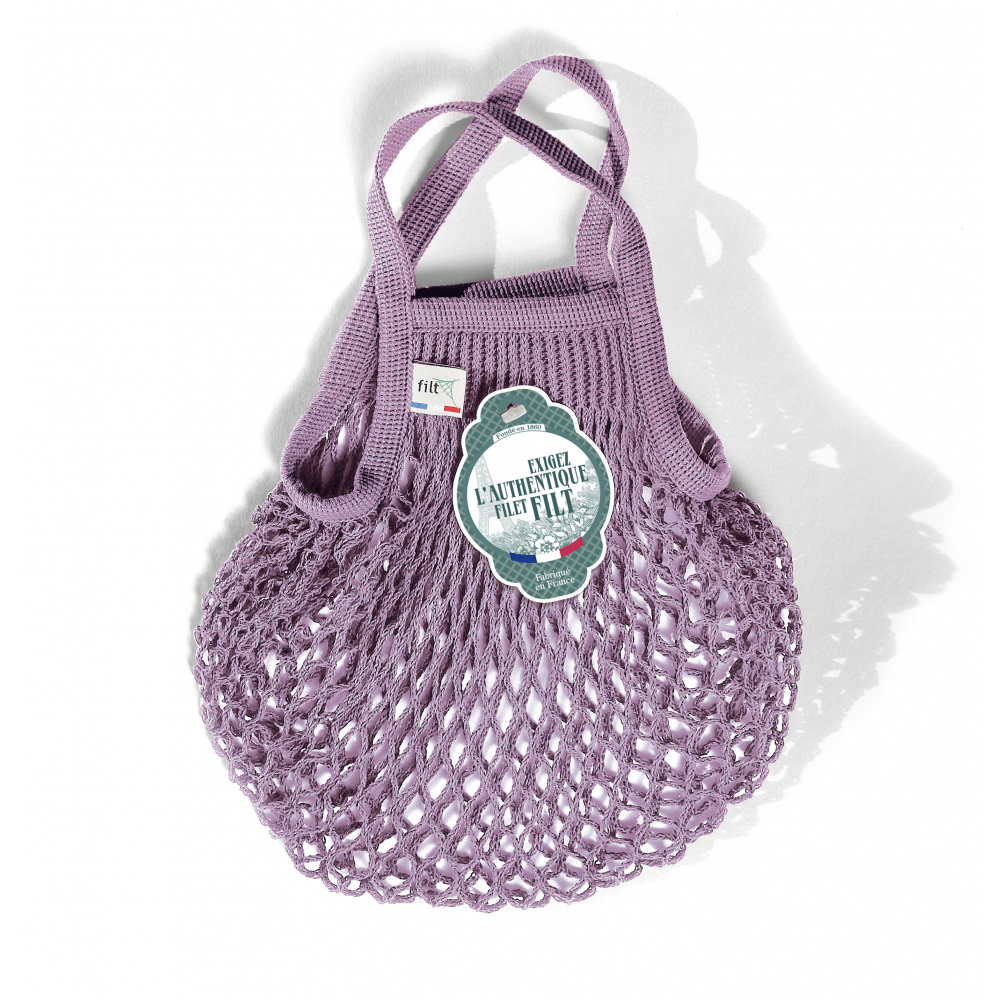 Filt Net Shopping Bag Mini - Lila