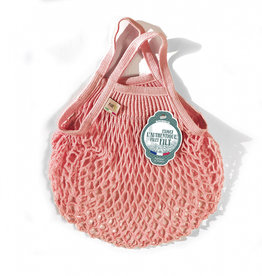 Filt Mini Net Shopping Bag - Pink