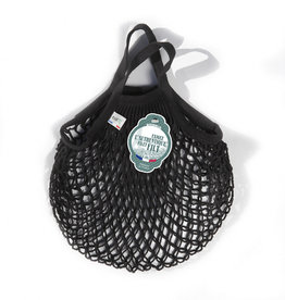 Filt Mini Net Shopping Bag - Black