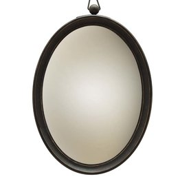 Convex Mirror Large - Wood