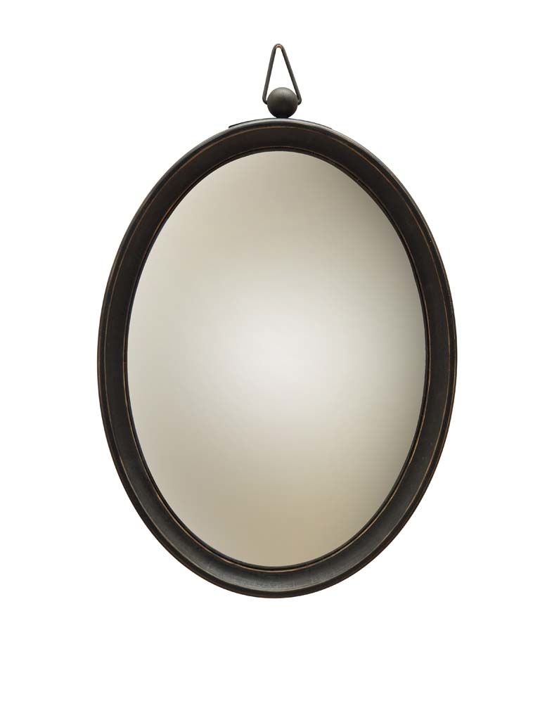 Convex Mirror Large - Wood