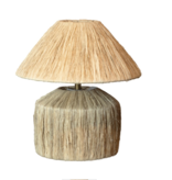 Lamp -Raffia