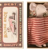 Maileg Mouse in Matchbox - Big Sister Brown Skirt