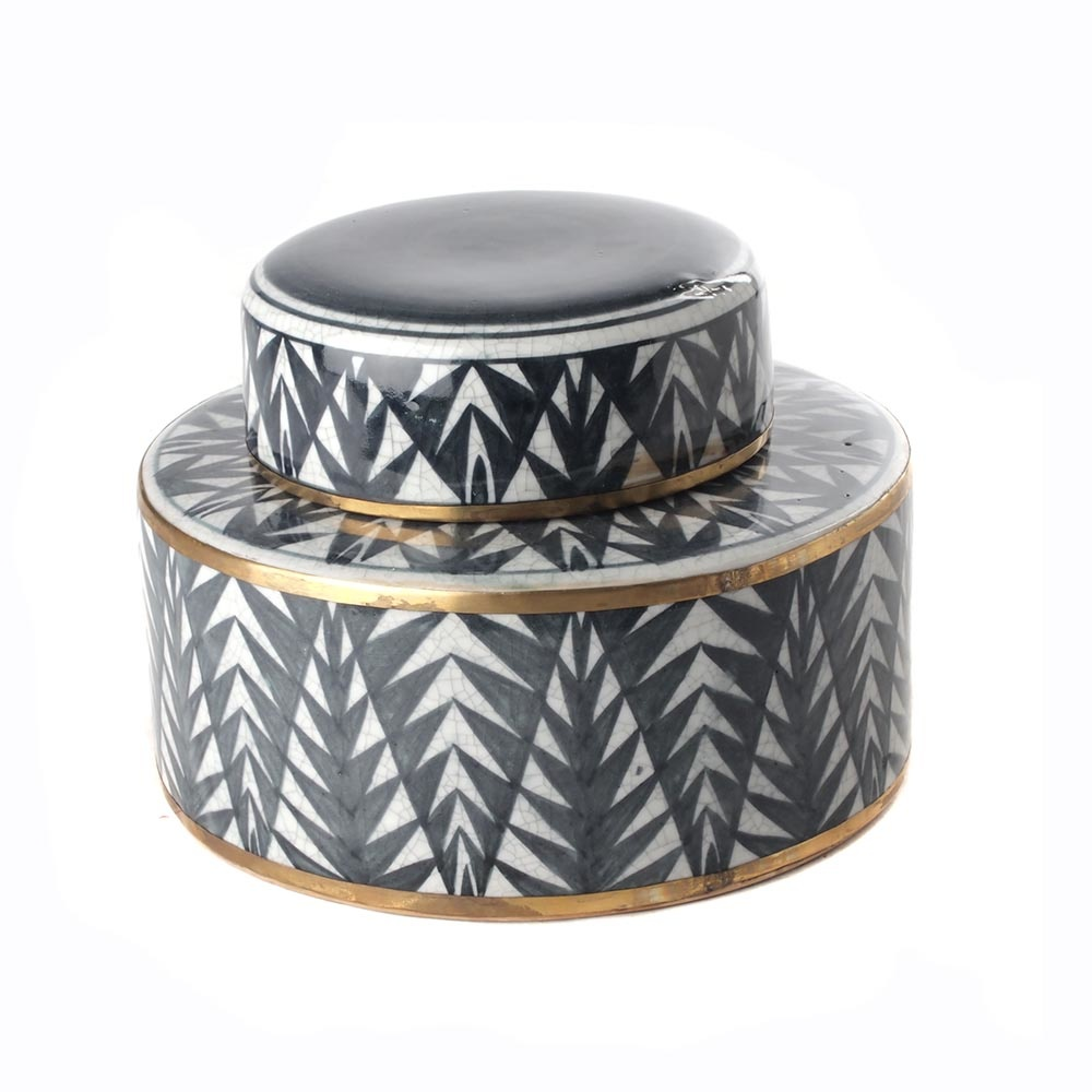 Pot with Lid - Pine