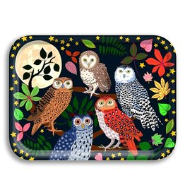 Avenida Home Tray - Owls