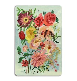 Avenida Home Cutting board - Flowers