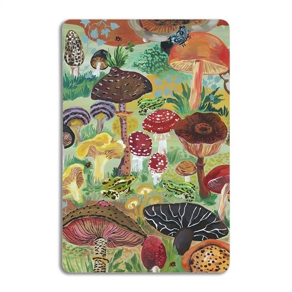 Avenida Home Cutting board - Mushrooms