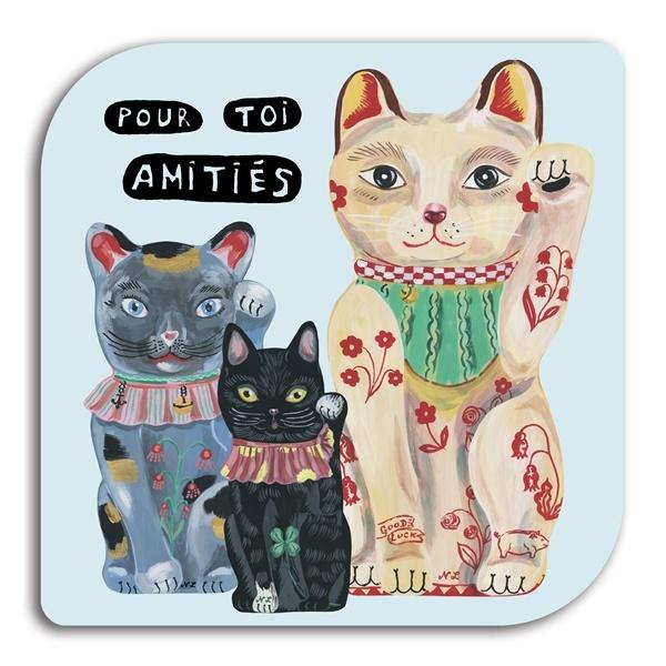 Avenida Home Trivet - Cats
