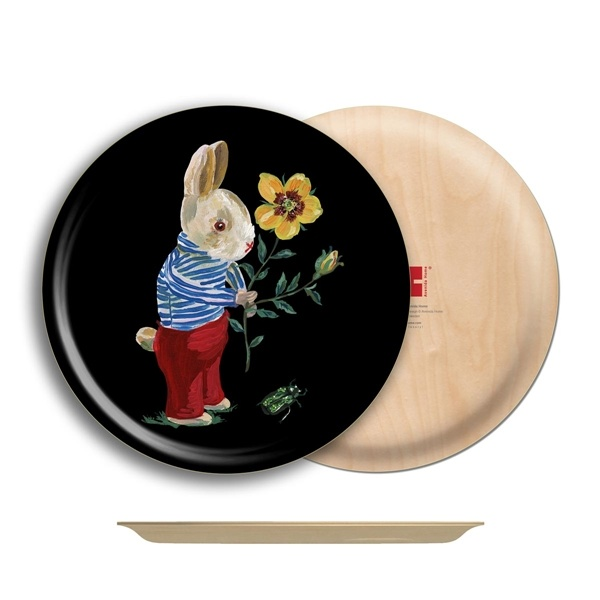 Avenida Home Tray Round - Rabbit