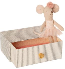 Maileg Dansmuis in Bed - Kleine Zus