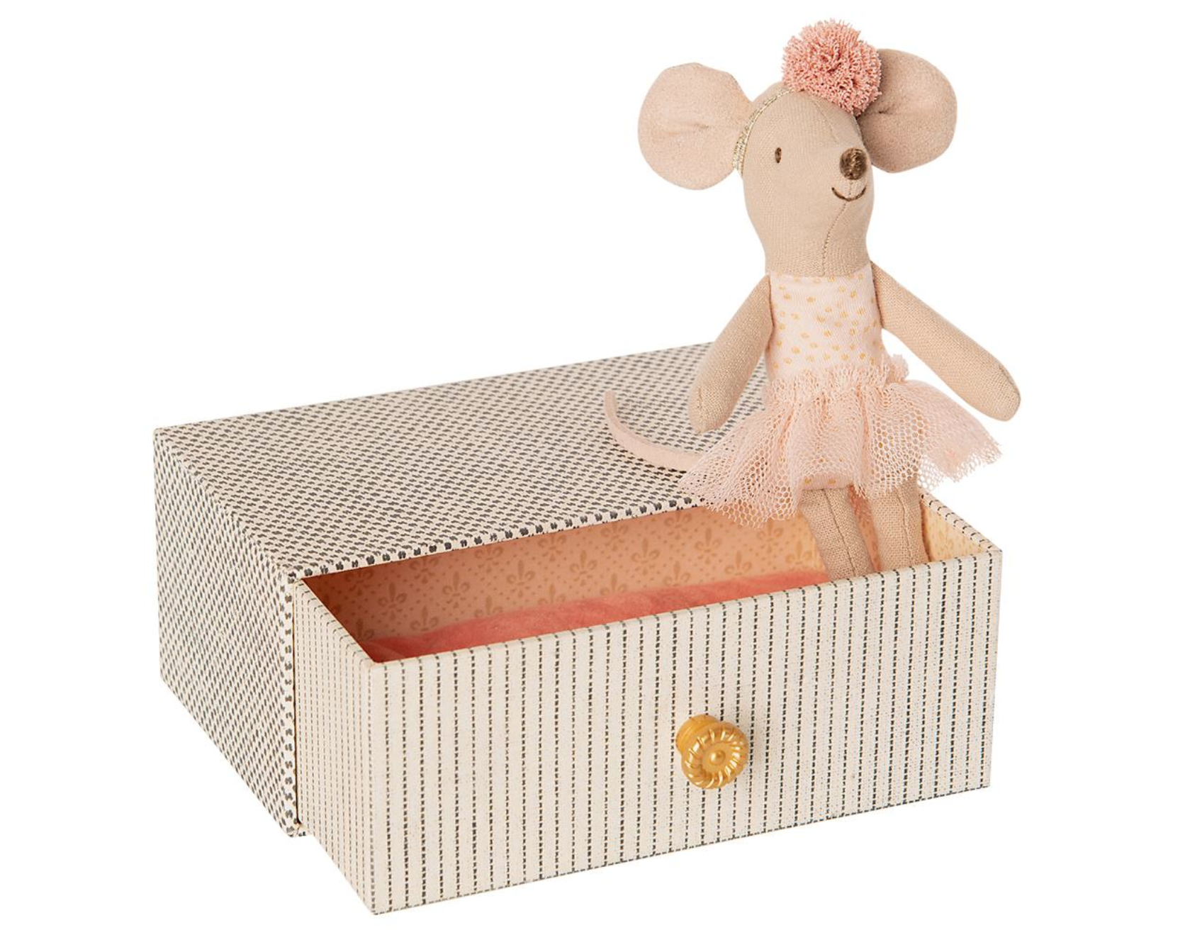 Maileg Dance Mouse in Bed - Little Sister