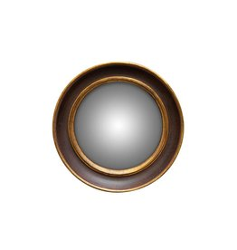 Convex Spiegel - Dubbele Gouden Rand