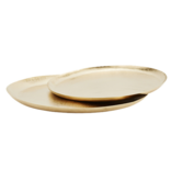 Tray Oval - Gold (S / L)