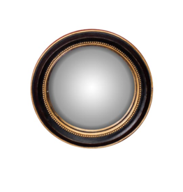 Convex Mirror - Golden Ball Rim