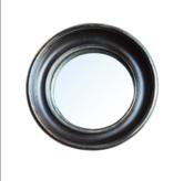 Convex Spiegel - Zwart