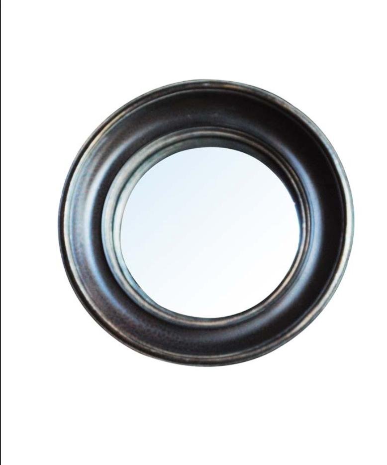 Convex Mirror - Black