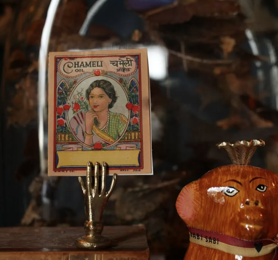 Doing Goods Card /Incense holder - Hand
