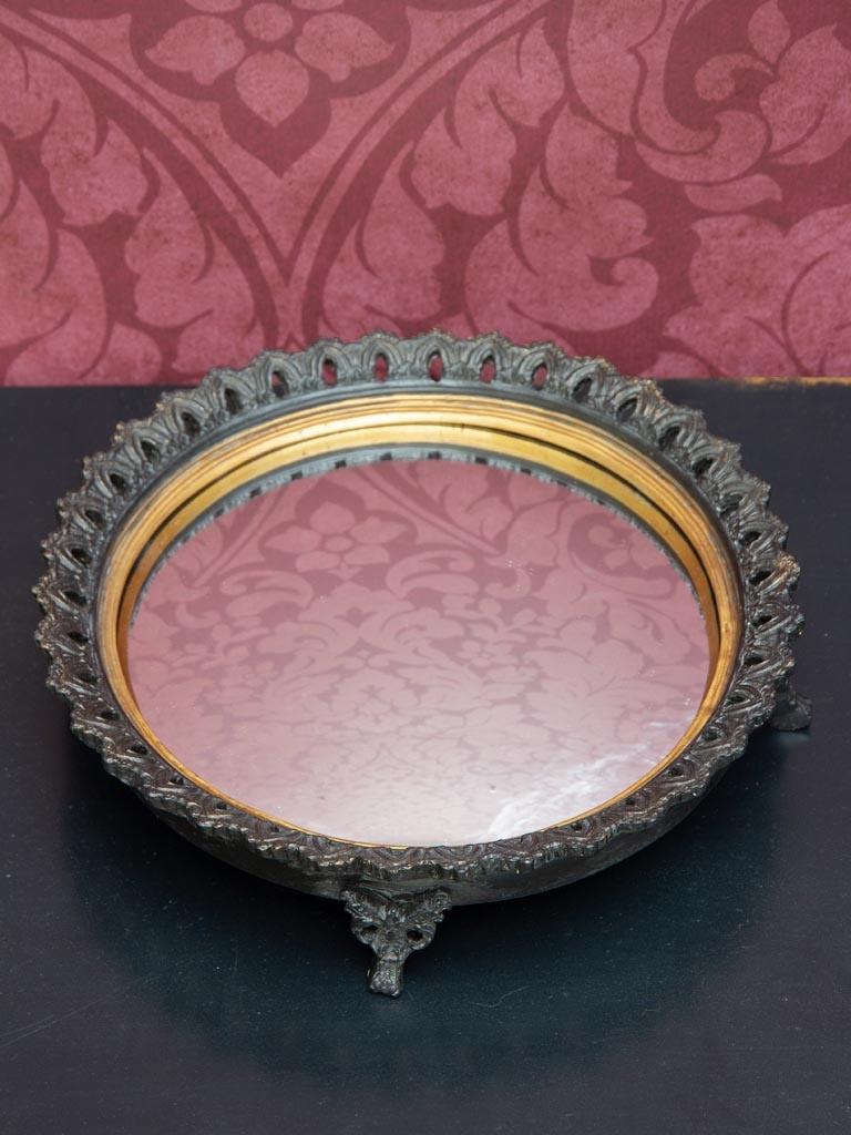 Tray on feet - Convex Mirror