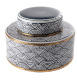 Pot with Lid - Wave