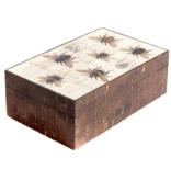 Storage box Bees - Wood / Bone