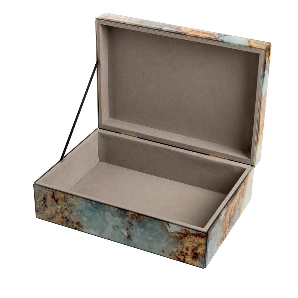 Mirror Box - Marble (Blue/Brown 008A)