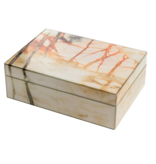 Mirror Box - Marble (Orange/Yellow)