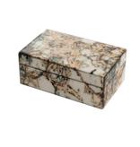 Mirror Box - Marble (Ecru/Green)