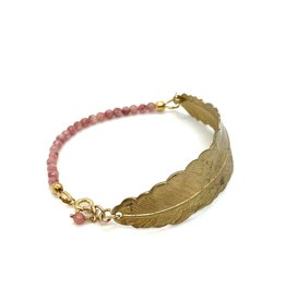 Bracelet Feather - Pink