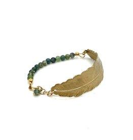 Armband Veer - Groen