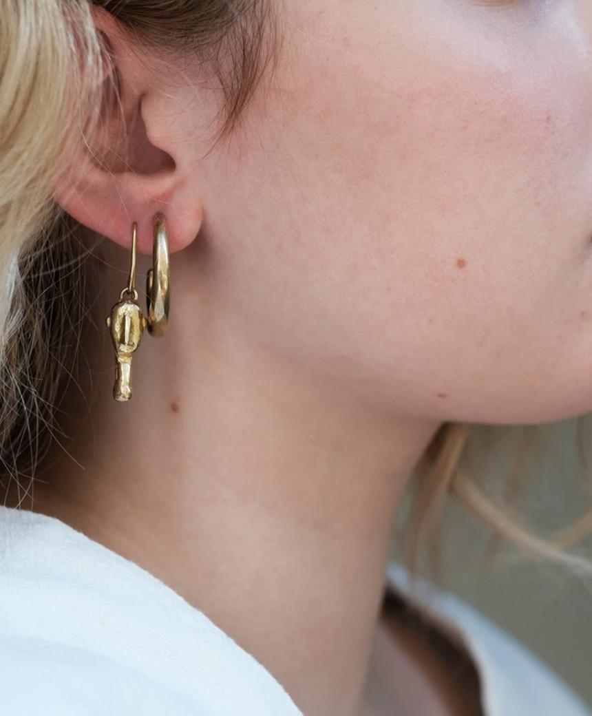 Circo Earring - Moai Face