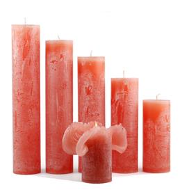 Bika Blooming Candles - Coral