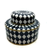 Pot with Lid - Diamond