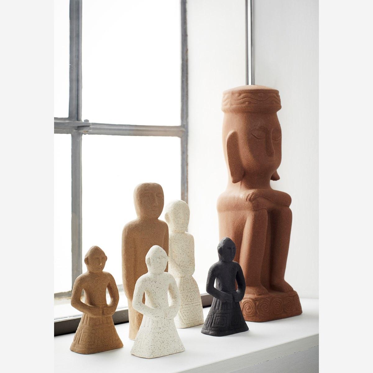 Statue Man Pottery - 39 cm