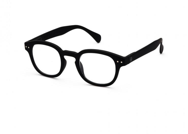 Izipizi Leesbril Model #C - Zwart