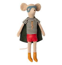 Maileg Mouse Super Hero - Medium Boy