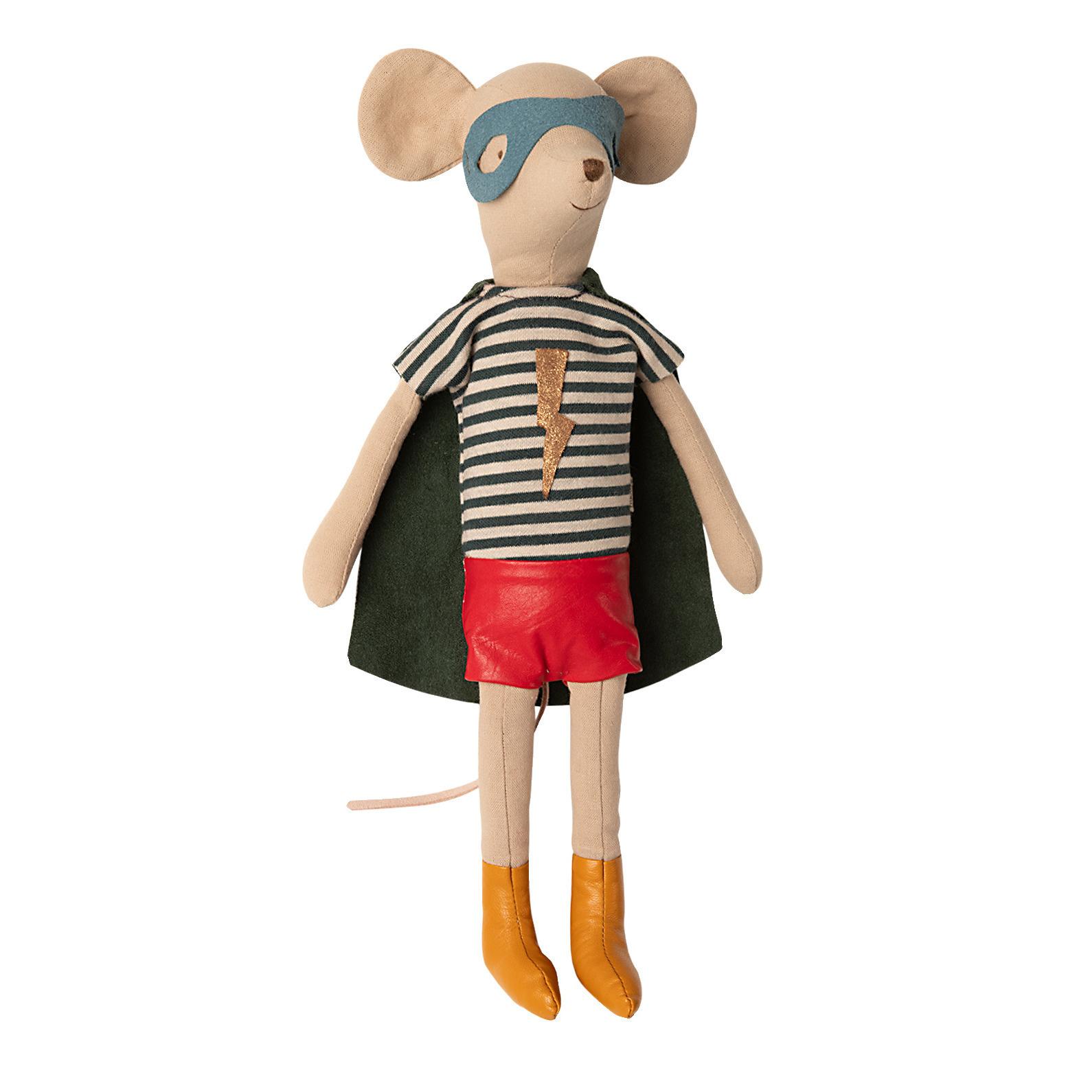 Maileg Mouse Super Hero - Medium Boy