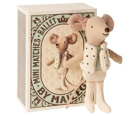 Maileg Dance Mouse in Matchbox - Little Brother