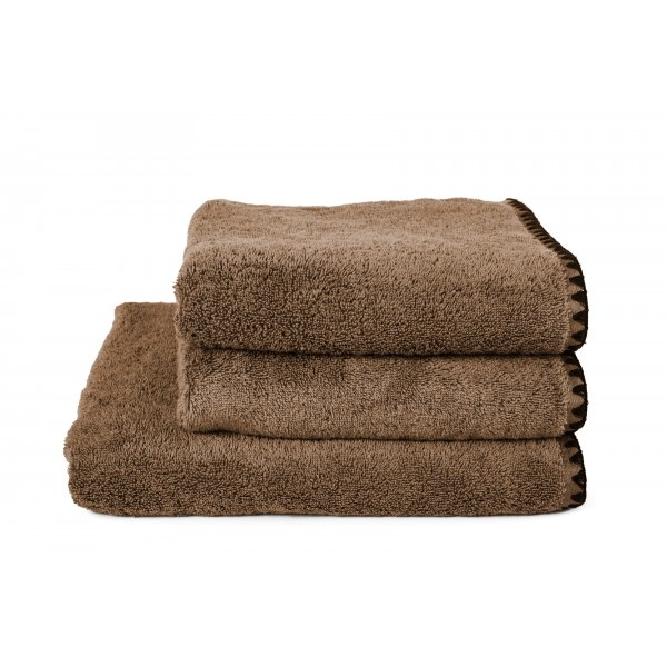 Harmony Guest towel Issey - Tabac