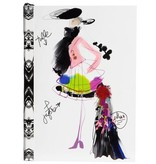 Christian Lacroix Notebook - Fashion Sketch