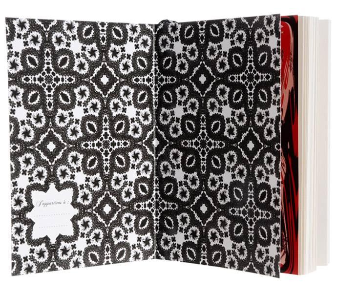 Christian Lacroix Notebook - Fashion Sketch