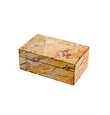 Mirror Box - Marble (Ocher 004B)