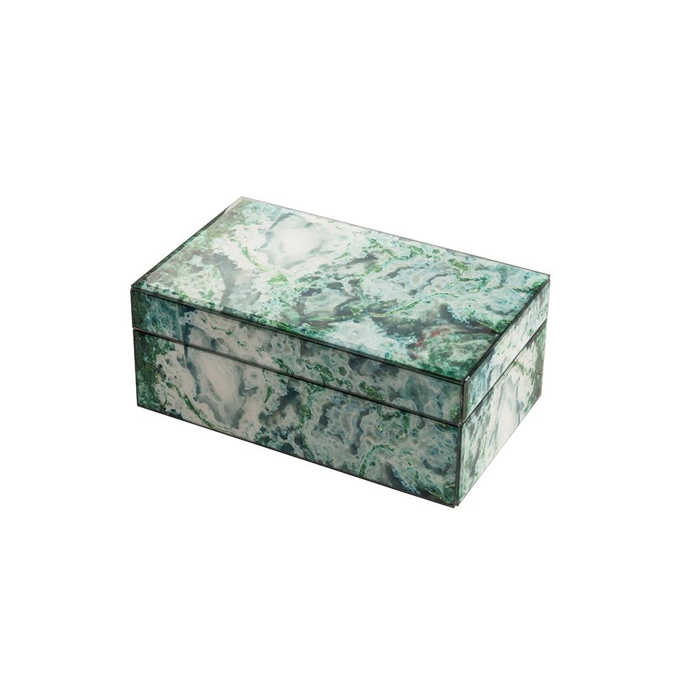 Mirror Box - Marble (Green)
