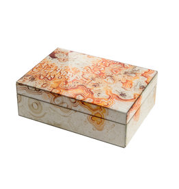 Mirror Box - Marble (Orange) 003A